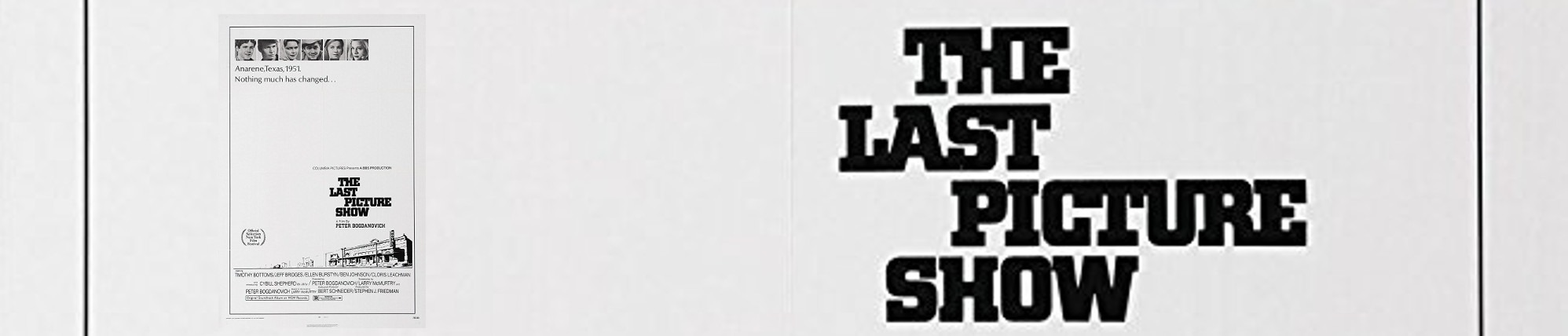 The Last Picture Show - Banner