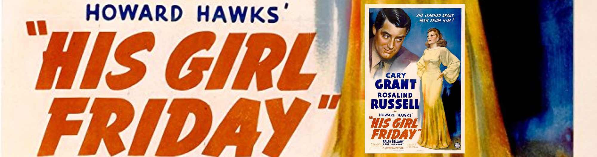 His Girl Friday Banner