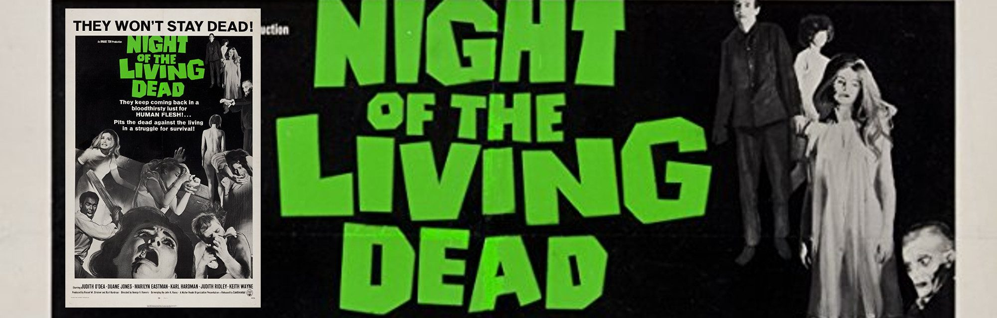 N ight of the Living Dead Banner