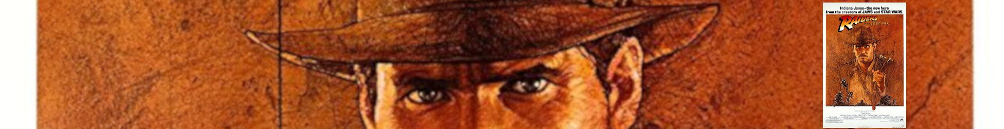 Raiders of the Lost Ark Banner