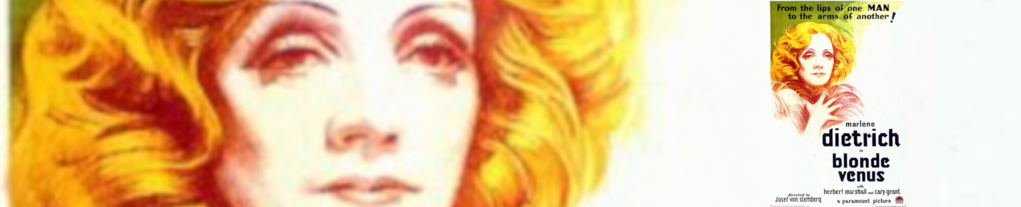 Blonde Venus Banner
